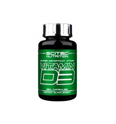 Vitamin D3 250 caps.