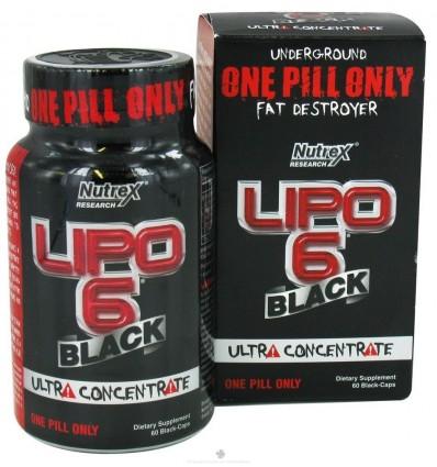 Lipo 6 Black 120caps